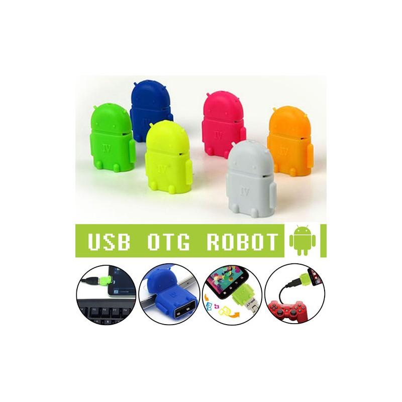 Android Mini Robot Micro Usb Otg Adapter Avenue Mall